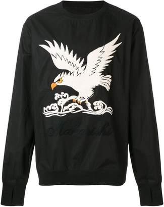 MHI eagle embroidered sweatshirt