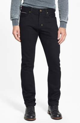 PRPS 'Demon' Slim Straight Leg Selvedge Jeans