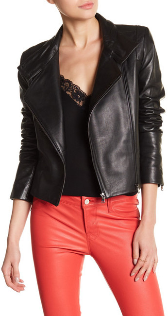 J BrandJ Brand Connix Genuine Leather Jacket