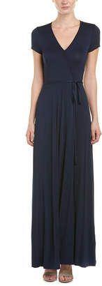 Three Dots Belted Maxi Dress
