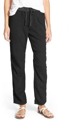 Women's James Perse Soft Drape Utility Pant $225 thestylecure.com