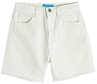 MiH Jeans M i H High-Waisted Cut-Off Denim Shorts