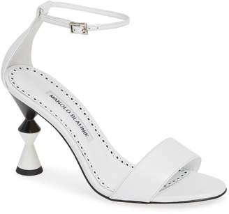 Manolo Blahnik Leda Ankle Strap Sandal