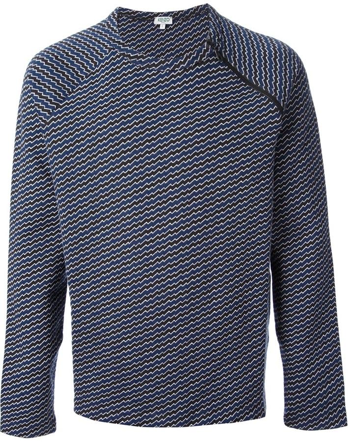 Kenzo 'Lightening Bolt' sweatshirt