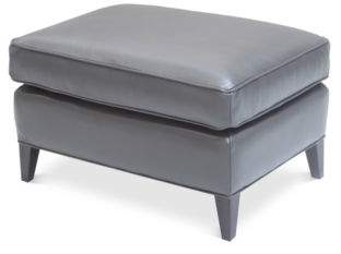 Bloomingdale's Artisan Collection Charlotte Leather Ottoman - 100% Exclusive
