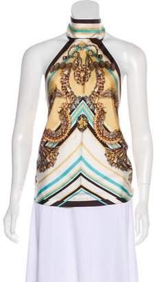 Gucci Silk Halter Top