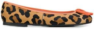 Pretty Ballerinas leopard ballerina shoes