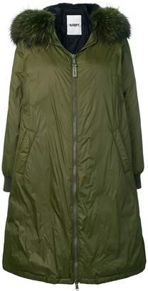 Yves Salomon Army oversized parka coat