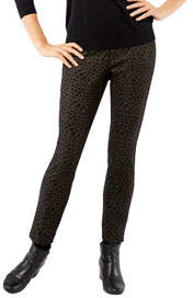 Peace of Cloth Jerry Cheetah-Print Ankle Pants