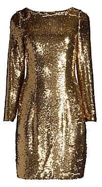 Aidan Mattox Women's Sequin Cocktail Dress - Size 0