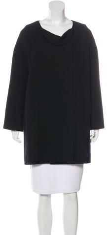 Chloé Chloé Cowl Wool Coat