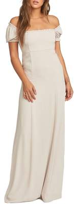 Show Me Your Mumu Brittany Blouson Gown