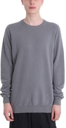 Drkshdw Grey Cotton Sweatshirt