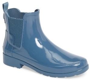 Women's Hunter 'Original Refined' Chelsea Rain Boot $145 thestylecure.com