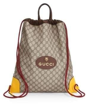 Gucci GG Drawstring Backpack