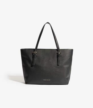 Karen Millen Saffiano-effect Tote Bag