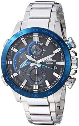 Casio Men's 'Edifice Connected' Quartz Stainless Steel Sport Watch