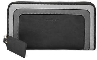 Urban Originals Drama Queen Faux Leather Zip Wallet