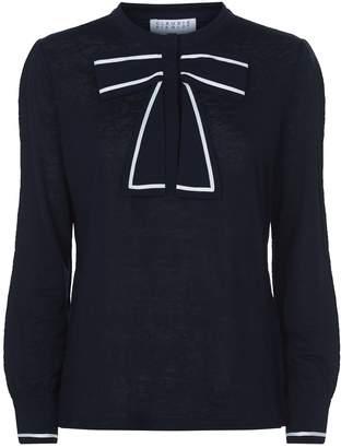 Claudie Pierlot Bow Collar Shirt