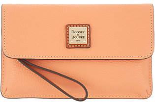 Dooney & Bourke Pebble Leather Wristlet - Milly