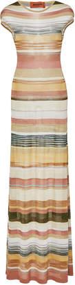Missoni Striped Lurex Maxi Dress
