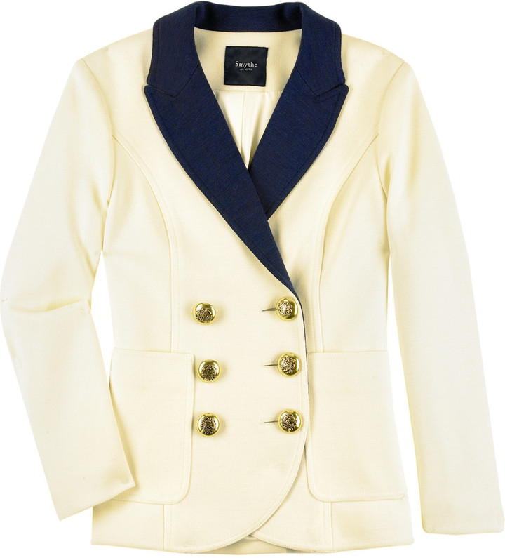Smythe Double-breasted schoolboy blazer