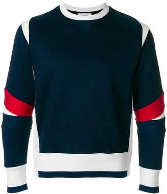 Thom Browne Articulated Crewneck Jersey Sweatshirt