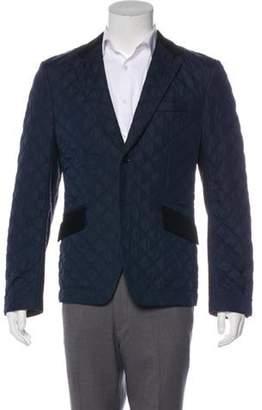 Junya Watanabe Comme des Garçons MAN Quilted Lightweight Blazer blue Comme des Garçons MAN Quilted Lightweight Blazer