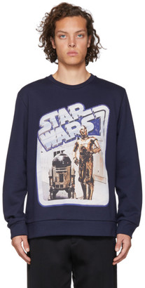 Etro Navy Star Wars Edition Droids Sweatshirt