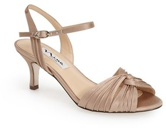 Women's Nina 'Camille' Pleated Sandal $84.95 thestylecure.com