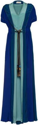 Peter Pilotto Silk Kaftan Gown