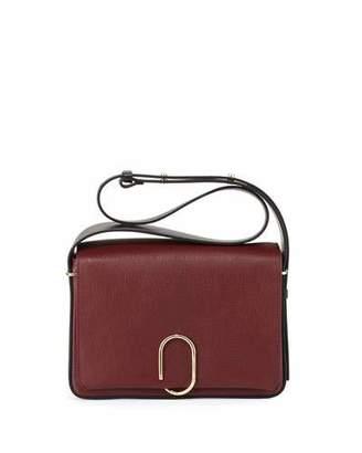 3.1 Phillip Lim Alix Flap Shoulder Bag, Burgundy/Black $1,050 thestylecure.com