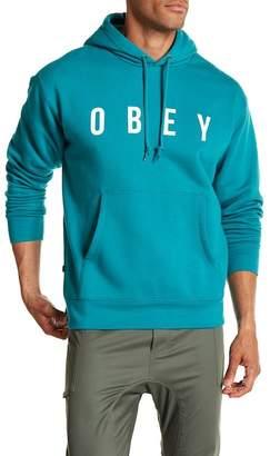 Obey Anyway Logo Hooded Sweatshirt