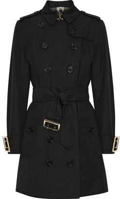 Burberry - The Sandringham Cotton-gabardine Trench Coat - Black $2,395 thestylecure.com