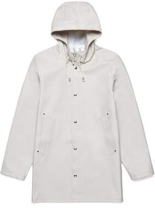 Stutterheim Stockholm Basic Raincoat in Light Sand
