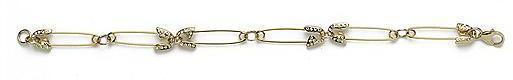CC Skye Safety Pin Bracelet