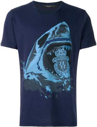 Billionaire shark print T-shirt