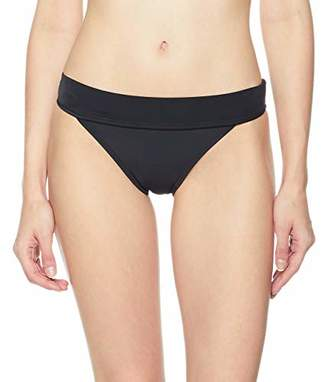 Ocean Blues Women's Foldover Hipster Bikini Bottom Size