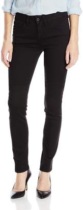 Yummie by Heather Thomson Yummie Women's Modern Mid Rise Slimming Straight Denim Jeans