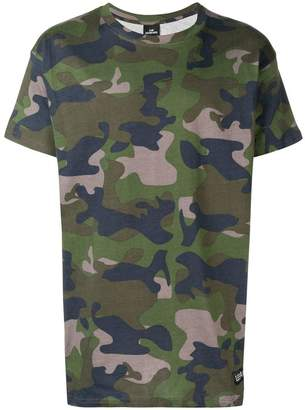 Les (Art)ists T-Foot camouflage T-shirt