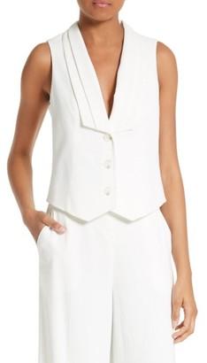 Women's Frame Tux Vest $325 thestylecure.com