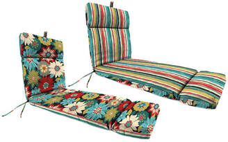 Andover Mills Reversible Indoor/Outdoor Chaise Lounge Cushion