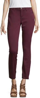 Liz Claiborne Womens Mid Rise Skinny Fit Jean