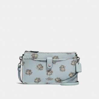 Coach Noa Pop-Up Messenger With Rose Print