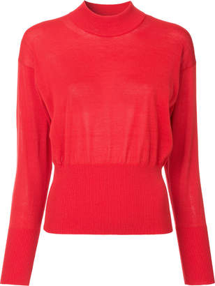 ASTRAET mock neck jumper