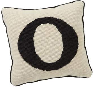 Pottery Barn Teen Alphabet Needlepoint Pillow, O