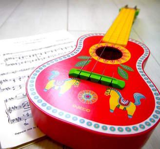 Djeco Crafts4Kids Child's Toy Guitar