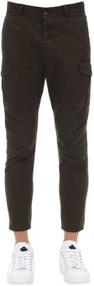 DSQUARED2 16cm Sexy Stretch Cotton Cargo Pants