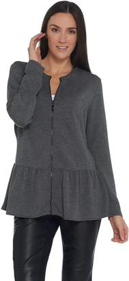 Belle By Kim Gravel Belle by Kim Gravel Lovabelle Lounge Peplum Jacket