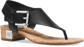 Michael Kors MICHAEL London T-Strap City Sandals